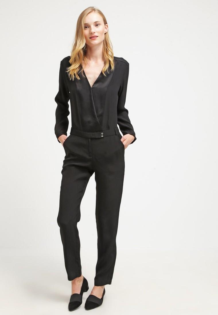 ikks combinaison noir combinaison ikks zalando tendance mode femme. Black Bedroom Furniture Sets. Home Design Ideas