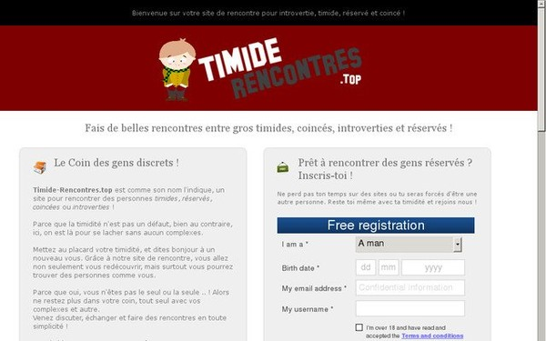 Rencontres timides
