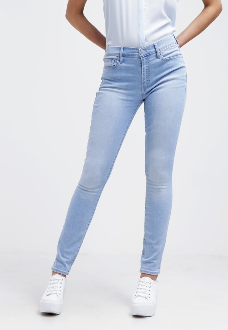 Gap skinny jean slim stone wash light jeans femme gap for Comment se chauffer pas cher