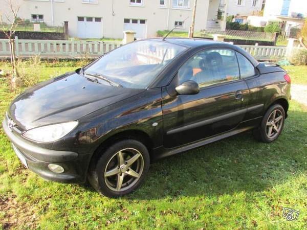 Peugeot 206 cc noir Voitures Charente - leboncoin.fr