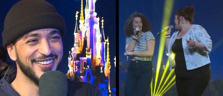 The Voice 5 : Slimane, Sol, Gabriella... Revivez le concert caritatif des finalistes à Disney (VIDEO)