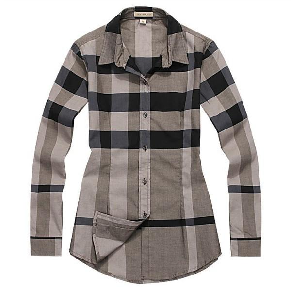 Burberry womens long dress shirt checks for sale long for Burberry t shirts for sale