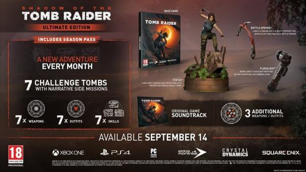 Figurine Lara Croft