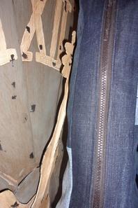 Etui à guitare classique en jean recyclé