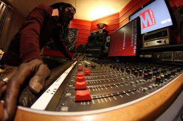 Triple Z en studio.