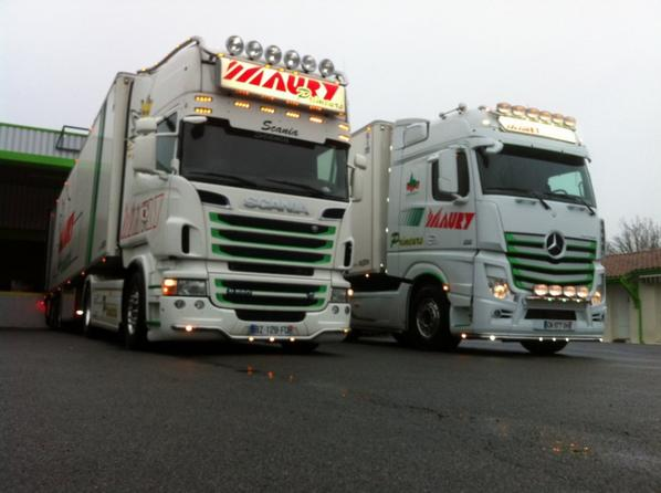 560 Scania vs 510 Mercedes