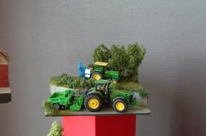 1ere Exposition de miniatures agricoles a Algolsheim (68) 2015 ( Dios de David )
