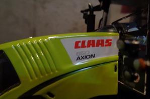 Nouveautée chez le voisin Albert: Claas Axion 850 Wiking