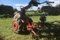 Motoculteur HONDA F660FS 1989 7cv et cultivateur 5 dents
