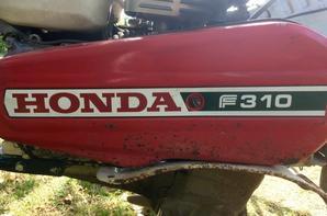 Preparation pour les semences avec le Honda FG 201 et le Honda F 310