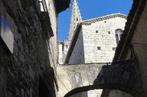 En Ardèche avec Juliette.