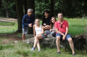 Dans les bois de l'Hermitage.