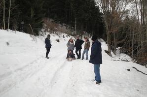 """St Bonnet le Courreau """"à la neige"""""""