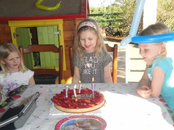 En Ardèche...Les 4 ans de Juliette...