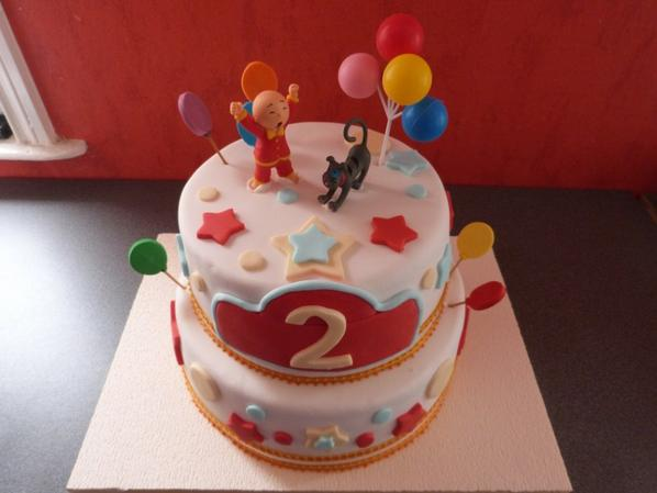 "birthday cakes ""caillou"""