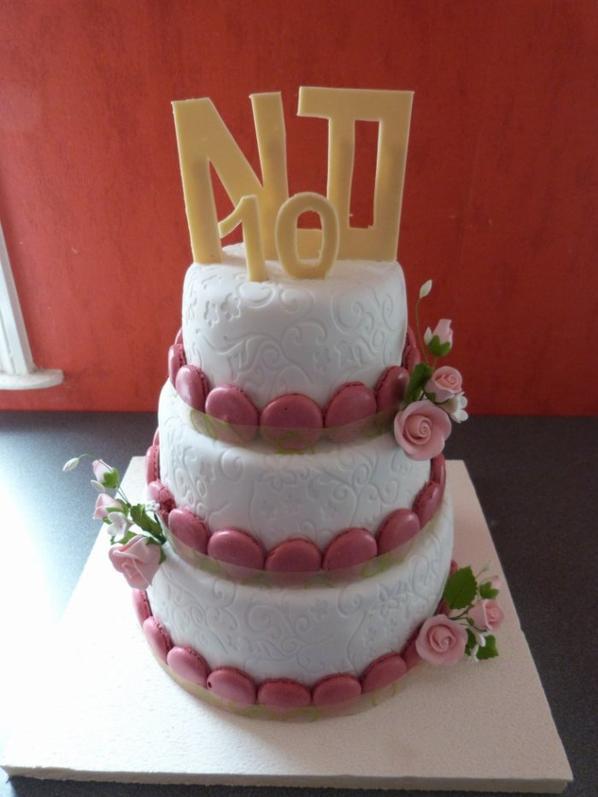 wedding cakes macaron