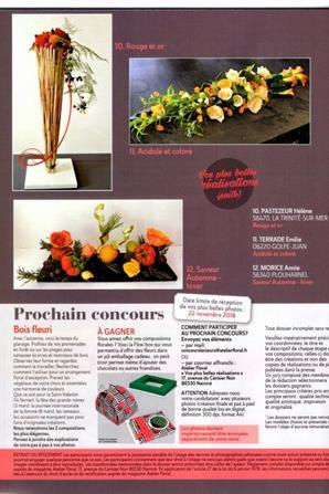 Atelier Floral N°52...bravo pour vos participations