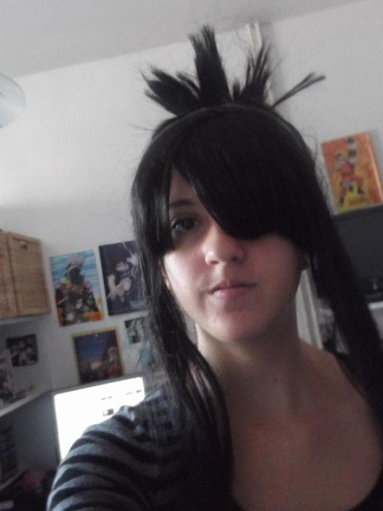 NEW !♥ Quel cosplay faire avec ma vieille wig noir,Anko ? XD