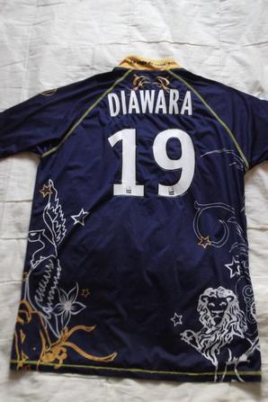 Maillot Kaba Diawara domicile ligue1 manches courtes (70euros)
