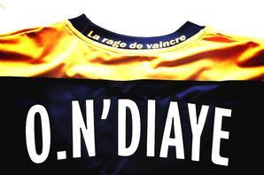 Maillot Ousmane N'diaye domicile saison 2011/2012 (75euros)
