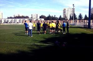 L'équipe 1 au parc des sports d'Avignon (cliquez dessus pour zoomer)