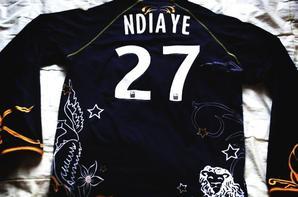 Maillot manches longues ligue1 Deme Ndiaye saison 2010/2011 (100euros)