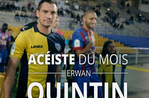 Maillot domicile saison (2013/2014) de notre valeureux capitaine ERWAN QUINTIN