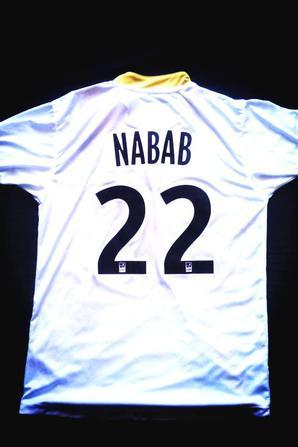Maillot exterieur Livio Nabab (saison 2013/2014) BIMBAMPOUPAF :) j'adooooore