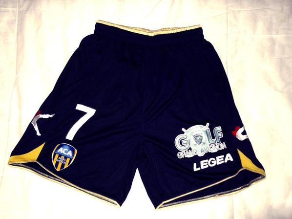 SHORT DE CHAOUKI BEN SAADA domicile (saison 2013/2014).