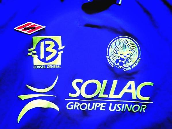 Maillot CFA saison 1999/2000 (20euros)