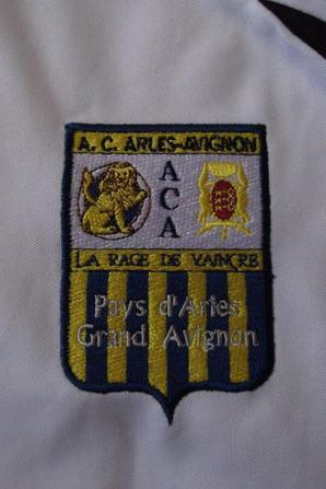 Maillot rare (exterieur), Thomas Ayasse saison 2009/2010 (78euros)