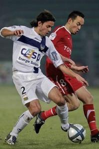 Maillot extérieur Ligue 1, Alvaro Mejia (saison 2010/2011) 50euros