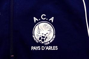 Sweat de l'A.C.Arles en nationale de Mr Jean Marc Conrad.