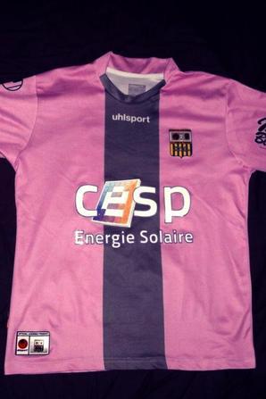 Maillot exterieur (rare) debut ligue 1,preparé pour Meriem (saison 2010/2011) (70euros)