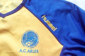 MAILLOT A.C.ARLES,environ 2008, equipe amateur asso (20euros).