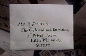 L'étrange lettre