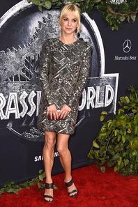 Anna Faris et Chris Pratt arrive à la «Jurassic World '- Première mondiale au Dolby Theatre le 9 Juin, 2015 Hollywood, en Californie.