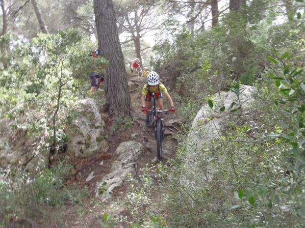 Encadrement des jeunes d'Istres Sport VTT