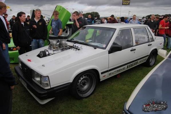 Volvo 740 1988 // Moteur Chevy V8 355 Csb Compressor 700hp - 1000nm