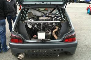 Citroën Saxo // moteur Suzuki Hayabusa
