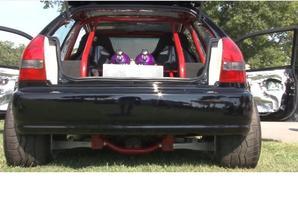 Honda Civic // moteur Chevrolet V8 LSX 454 Nitrous System, transmission corvette z06 - 2000hp
