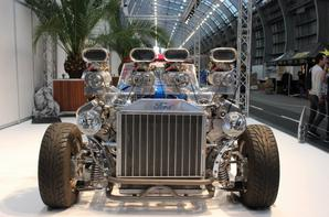Proto Ford Model T 1927 // Twin V8 Ford 4.6L four superchargers 1200hp Double Trouble Hot Rod by Gordon Tronson