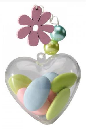 Contenants pvc grand choix de forme pour vos dragées, bonbons, chocolats...