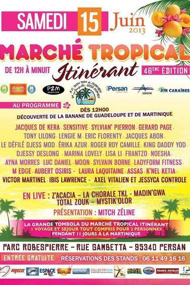 Marché Tropical Itinérant