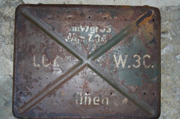 Caisse de mortier CAM (manque intérieur )