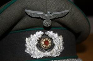 Casquette officier Intendance