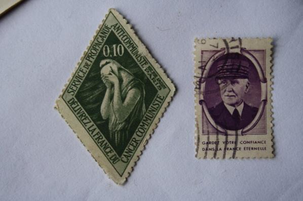 Un petit lot de timbre bien sympa .