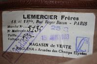 Casque et gang d'un pilote Français de la 2em guerre.