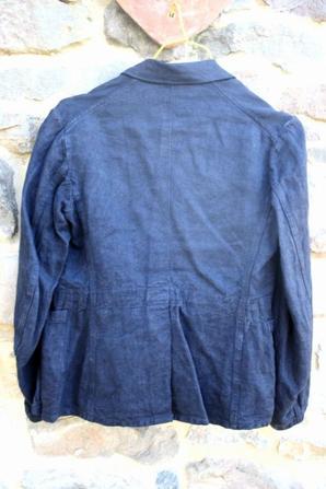 Veste et pantalon de la LUFTWAFF WW2 en toile à chevron .