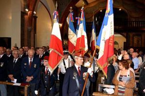 St Michel 29 Septembre 2013 pour l'UNP de l'Aude :Une petite marche ,  messe l'église St Michel d' Espéraza et une soirée bien arroser et festive !!